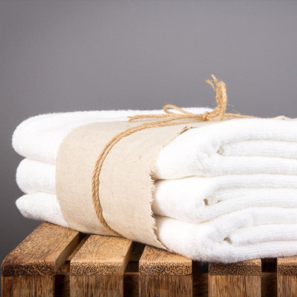 Bamboo Towel Off White
