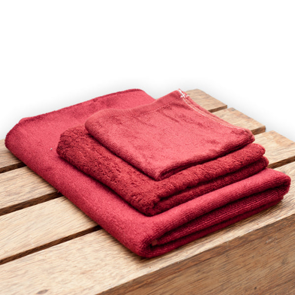 Bamboo Towel Burgundy