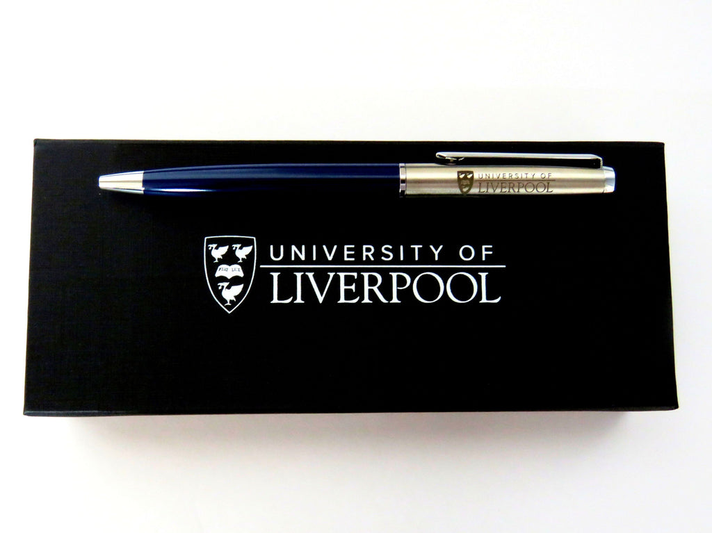 Blue Pen in Presentation Box