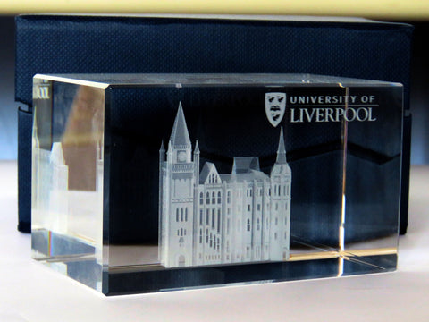 3D Victoria Building Paperweight