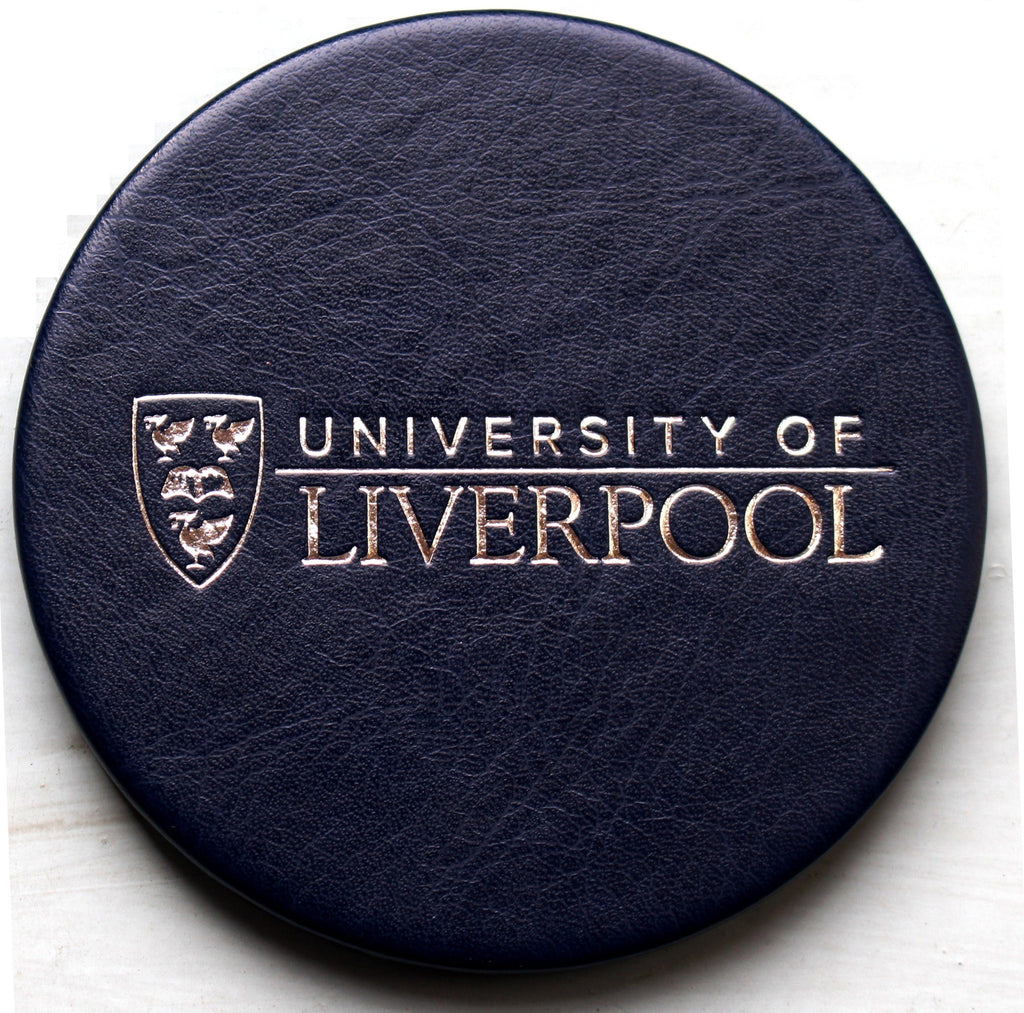 University of Liverpool Blue Coaster