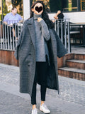 Women's New loose woolen coat