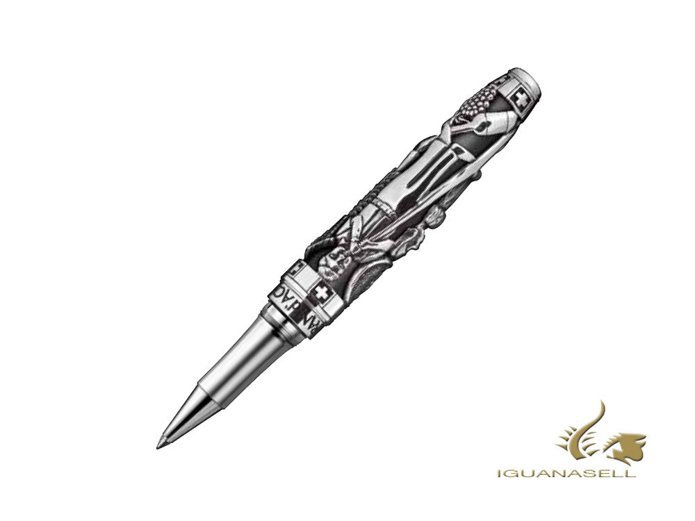 Caran d´Ache Spirit of Switzerland Roller, Silber, Limitierte Edition, 5070.051