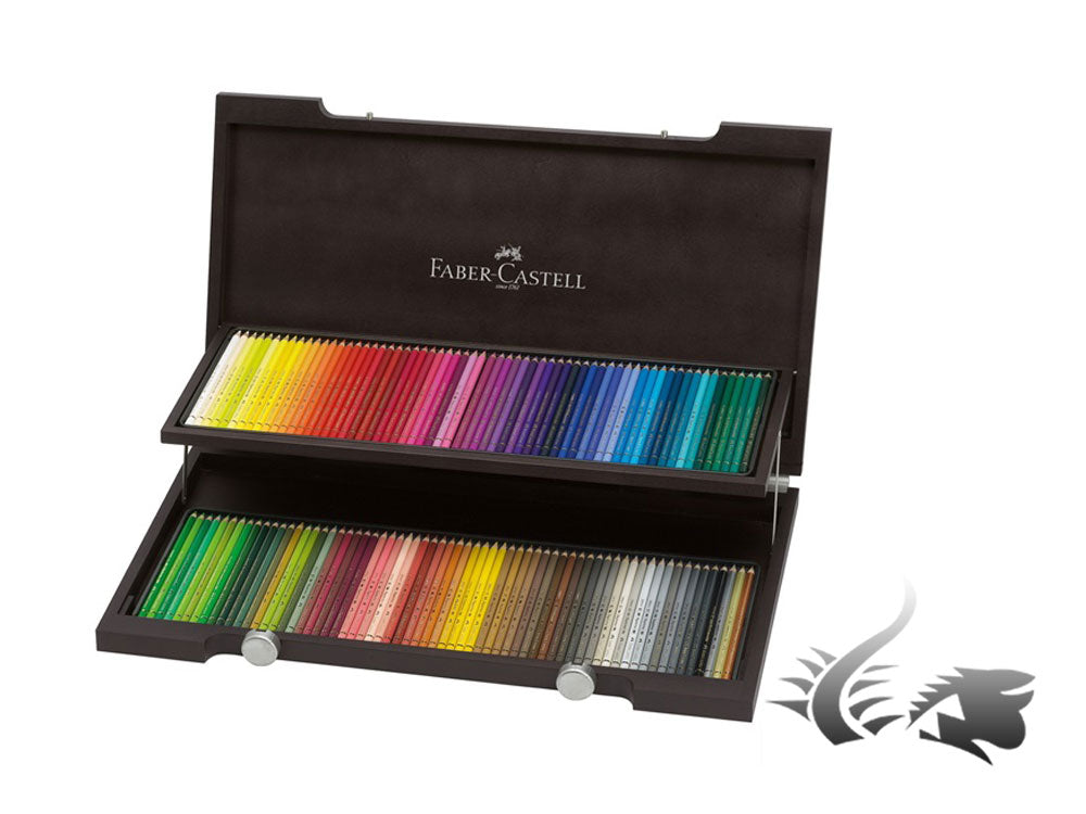 Faber-Castell Holzkoffer Polychromos, x120, 110013
