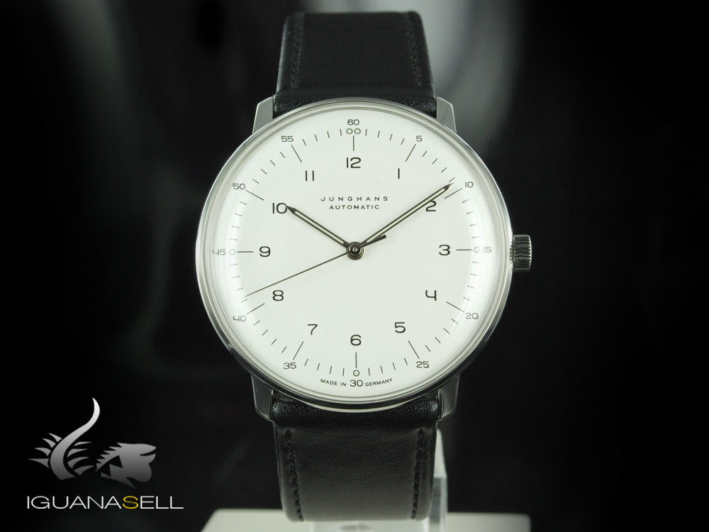 Junghans Max Bill Automatic Uhr, J800.1, 38mm, Weiss, 027/3500.00