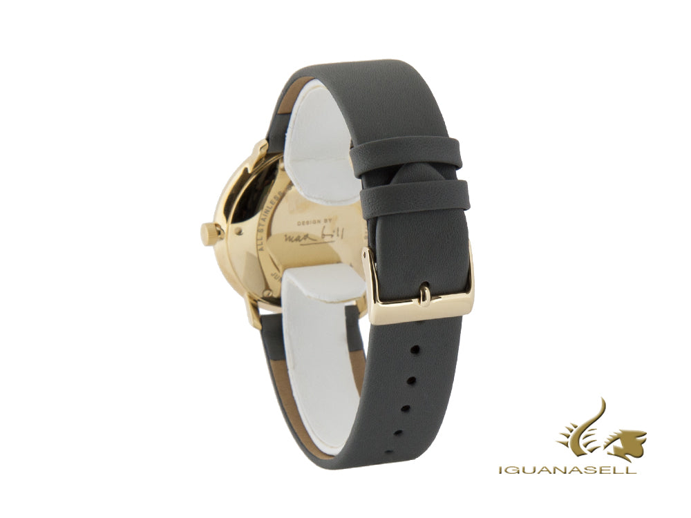Junghans Max Bill Automatic Uhr, J800.1, PVD Gold, 38mm, Tag, 027/7806.00