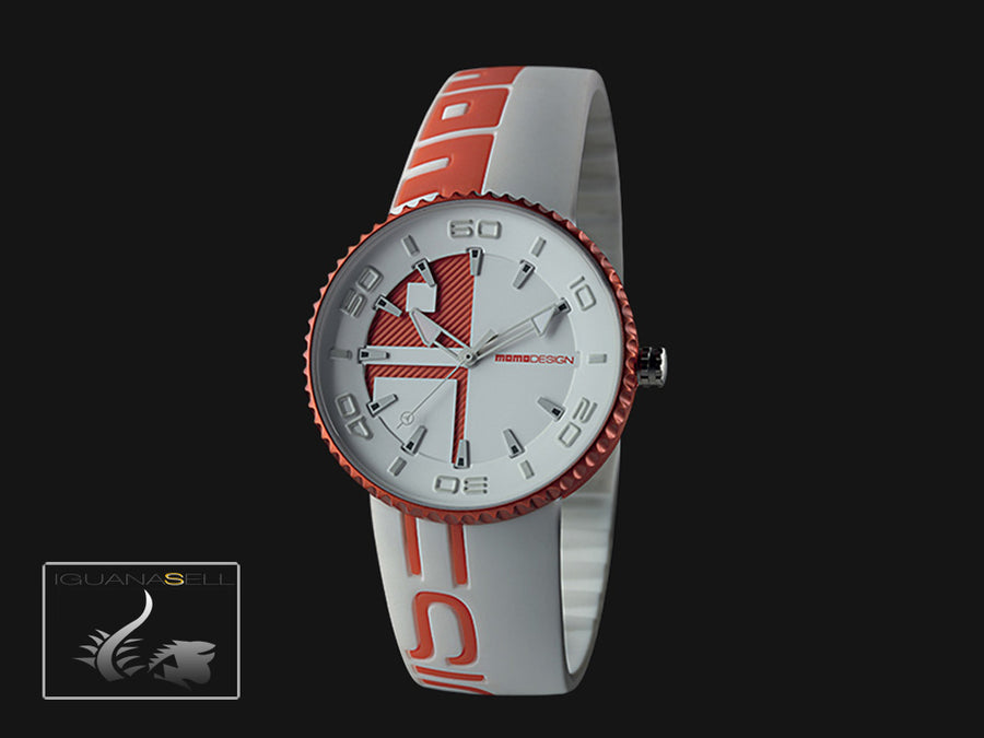 Momo Design Jet Quartz Uhr, Aluminium, 43mm. 5 atm. MD8187AL-131