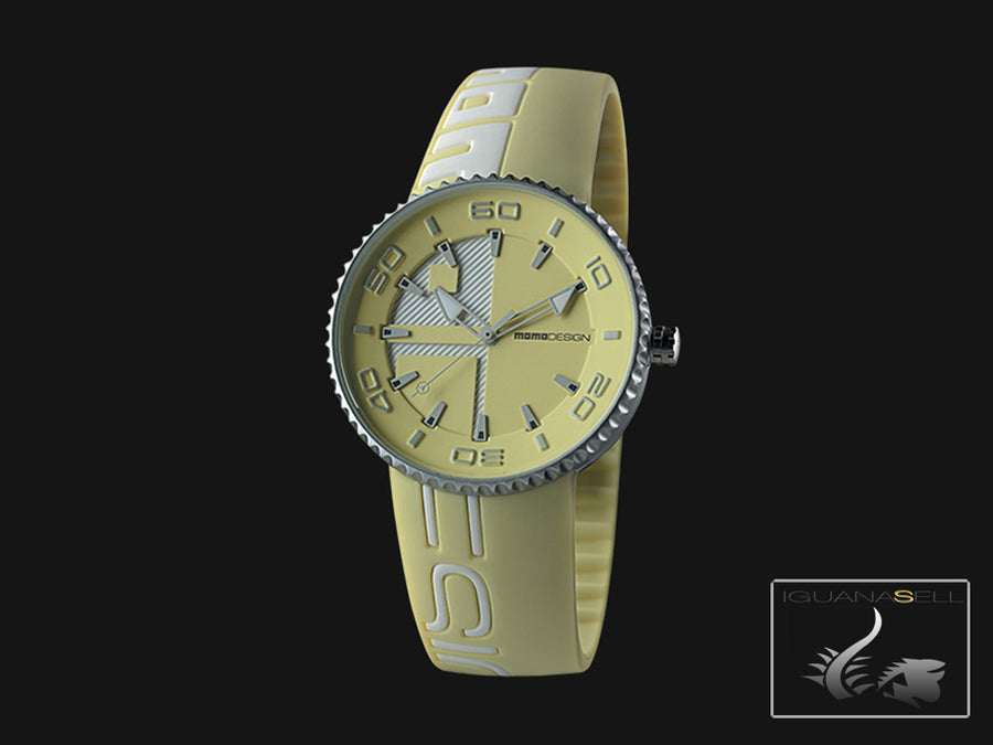 Momo Design Jet Quartz Uhr, Aluminium, 43mm. 5 atm. MD8187AL-151