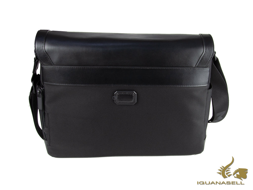 "Montblanc Nightflight Herrentasche ""Messenger"" Umschlang, Nylon/Leder, 118251"