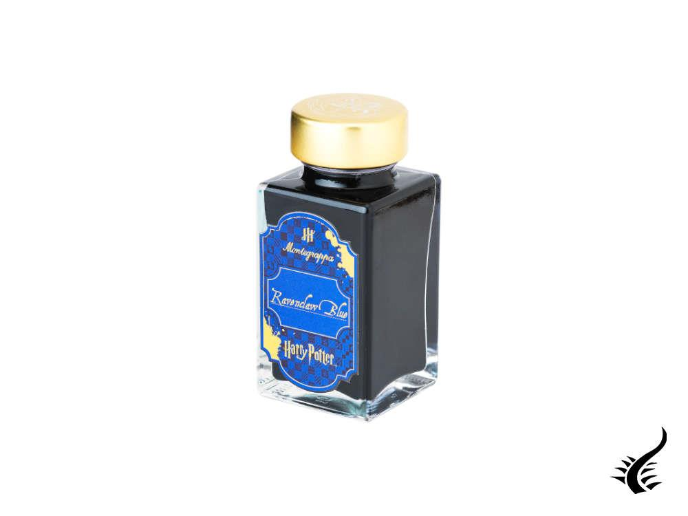Montegrappa Harry Potter Tintenfass, Ravenclaw Blue, Glass, 50ml IAHPBZIB
