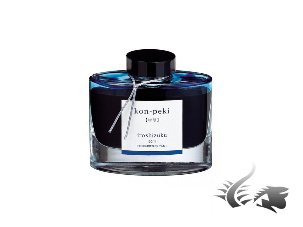 Pilot Tintenfass Iroshizuku Kon Peki, 50ml., Glass, INK-50-KO