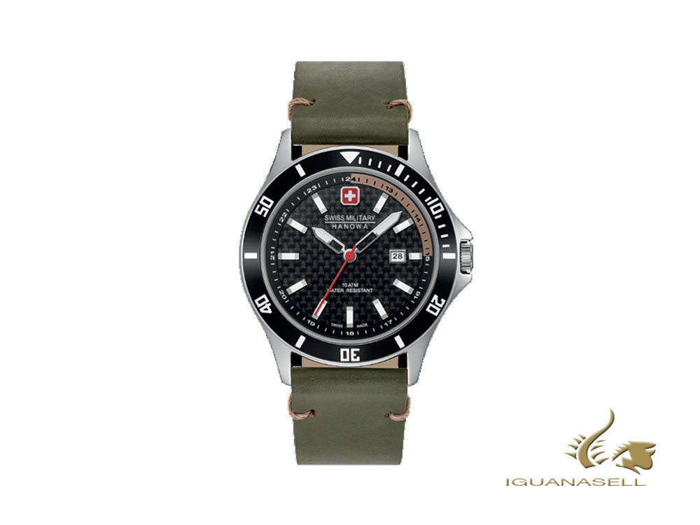 Swiss Military Hanowa Flagship Racer Quartz Uhr, 42 mm, 6-4161.2.04.007.14