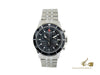 Swiss Military Hanowa Navy Flagship Chrono Quartz Uhr, Schwarz, 42 mm, 10 atm