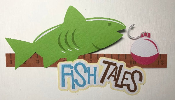 Fish Tales - Die Cut