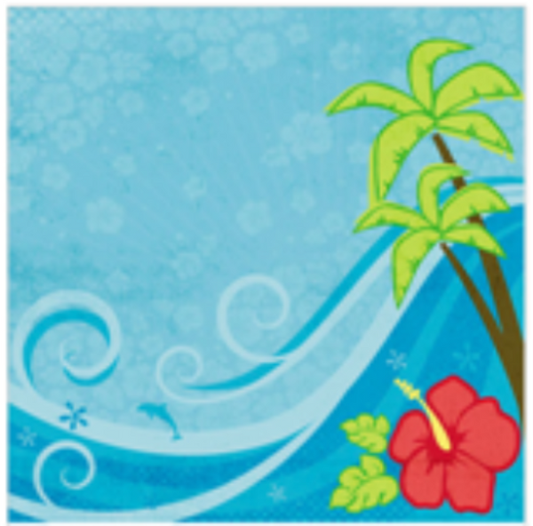 Tropical Travel - Scrapbook Paper - 3D