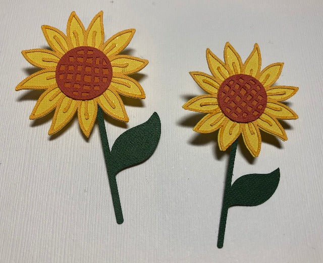Flowers - Set of Two - Die Cuts