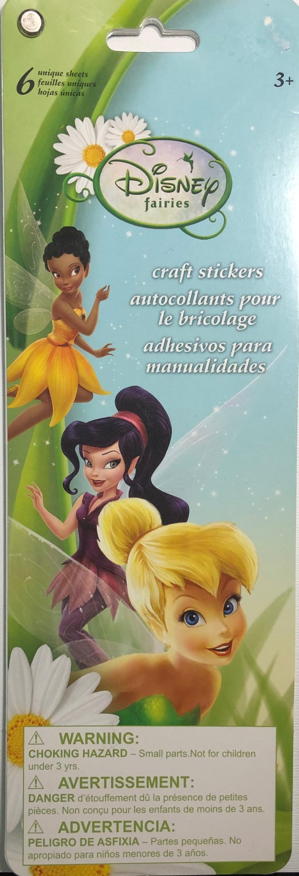 SandyLion Disney Fairies Sticker Flip Book - 6 pages