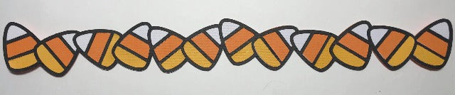 Candy Corn Border - Die Cut