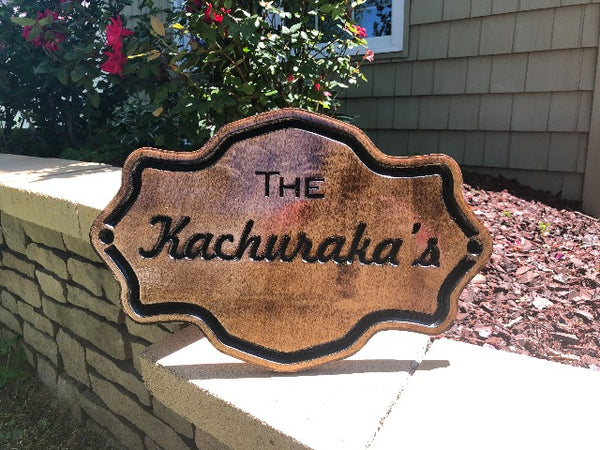 Last Name Sign, Wood Signs, Personalized Wooden Signs, Outdoor Signs