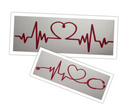 Heartbeat Border - Die Cut