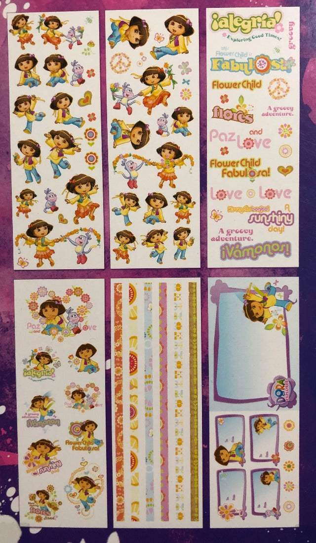 SandyLion Nickelodeon Dora the Explorer Sticker Flip Book - 6 pages