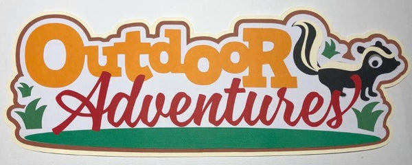 Outdoor Adventures - Die Cut