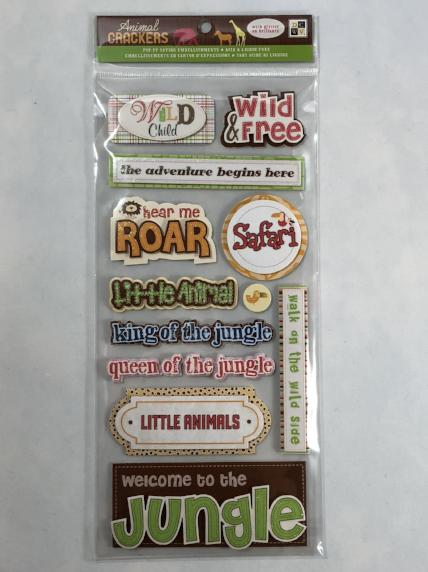 Animal Crackers - Safari Stickers