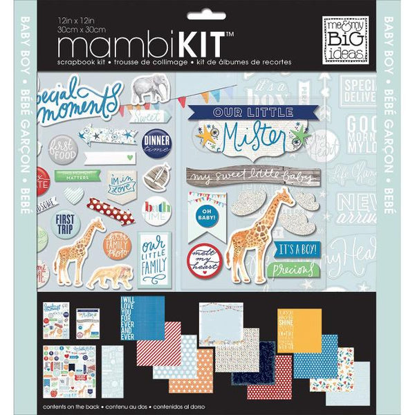 Cool Baby Boy - Mambi Page Kit