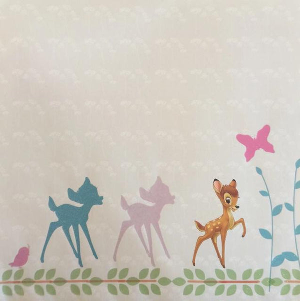 Sandylion: Scrapbook Paper 12 x 12 Disney Bambi