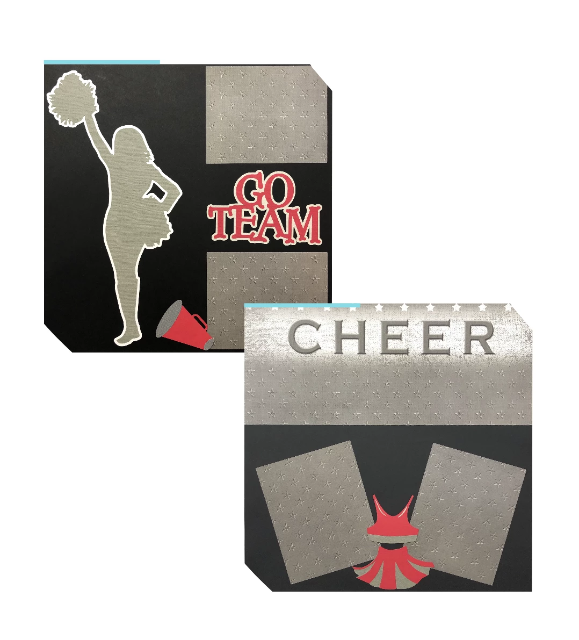 Cheerleader 2 Page Layout Kit