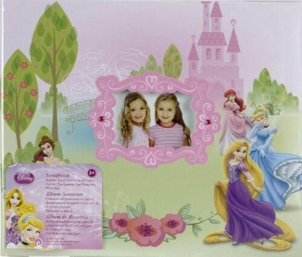 "Disney Princess 8.5"" Scrapbook Album"