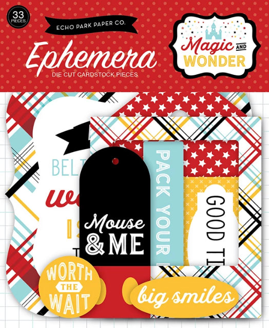 Ephemera - Magic and Wonder Frames & Tags Die Cut