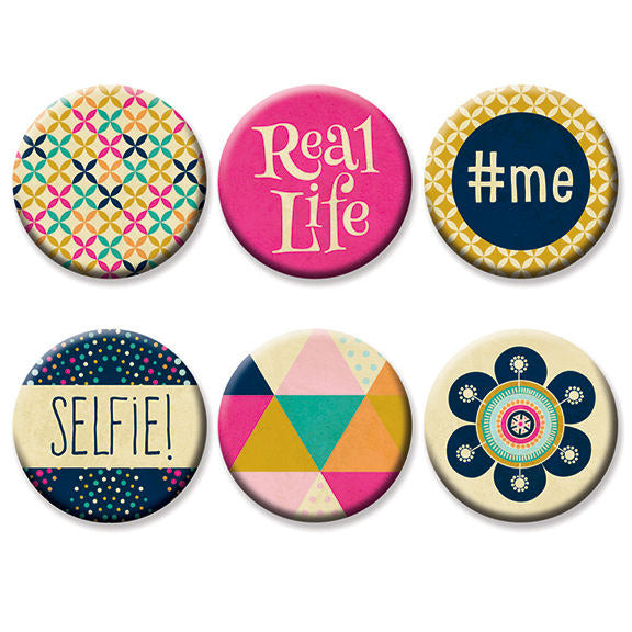 Fancy Pants Designs - Flutter Collection - Flair Buttons