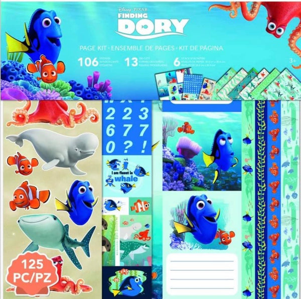 EK Success - Finding Dory 12 x 12 Page Kit
