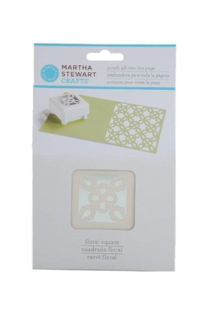 Martha Stewart Crafts Floral Square Punch All Over the Page