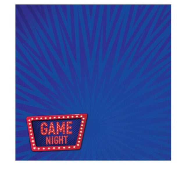 THERE'S NO PLACE LIKE HOME: GAME NIGHT 12 x 12 CARDSTOCK
