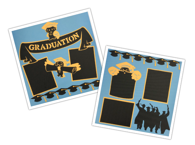 Graduation 2 Page Layout Kit