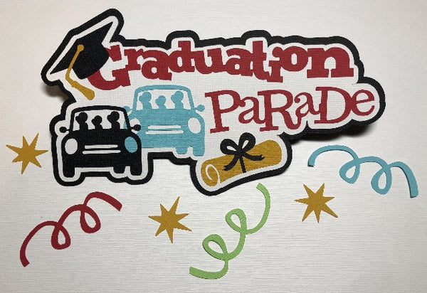 Graduation Parade Die Cut