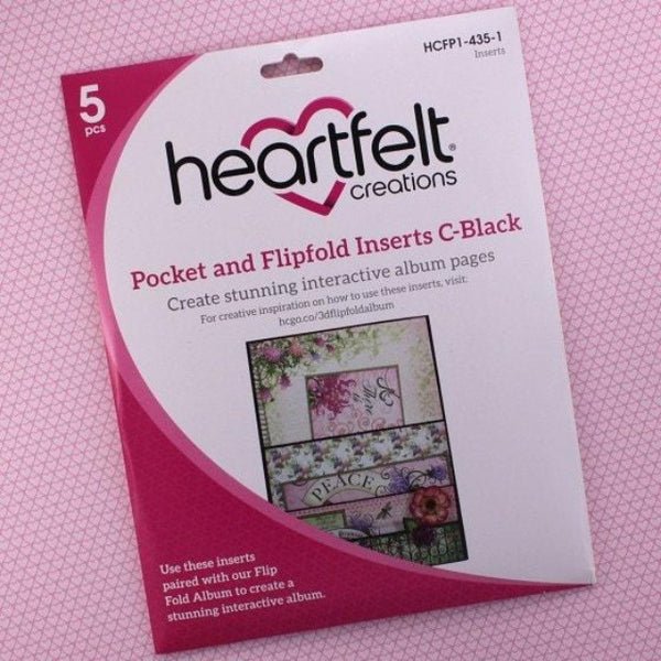 Pocket and Flipfold Inserts C by Heartfelt Creations