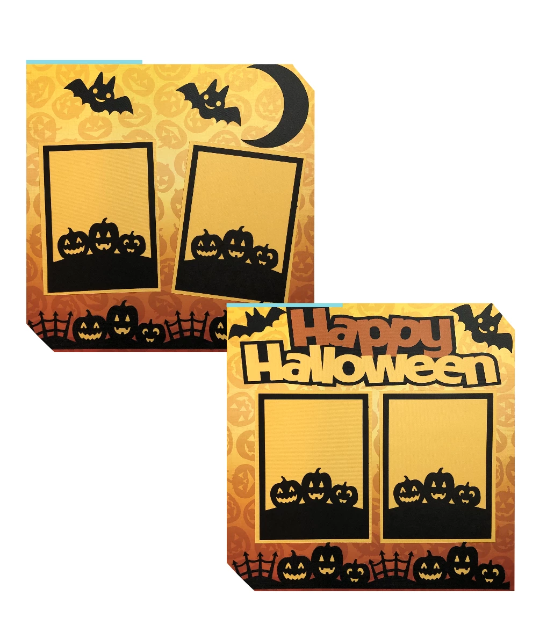 Happy Halloween - 2 page kit