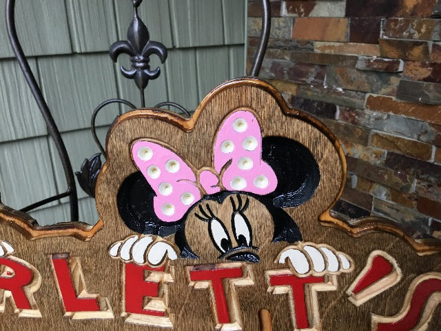 Child's Clubhouse / Playhouse / Playroom / Bedroom / Playground / Place- Custom Birchwood Personalized Decor - Wood Sign