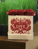 Paper Flower Box DIY