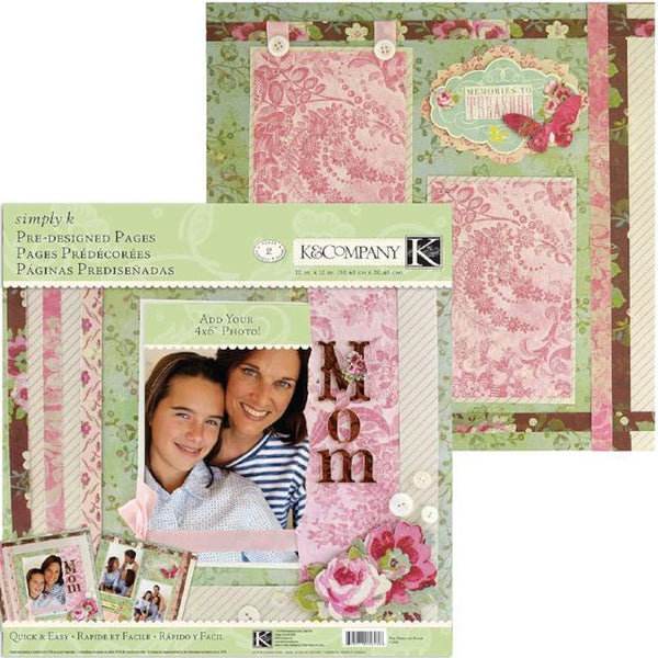 Mom Pre-Designed Pages by Simply K