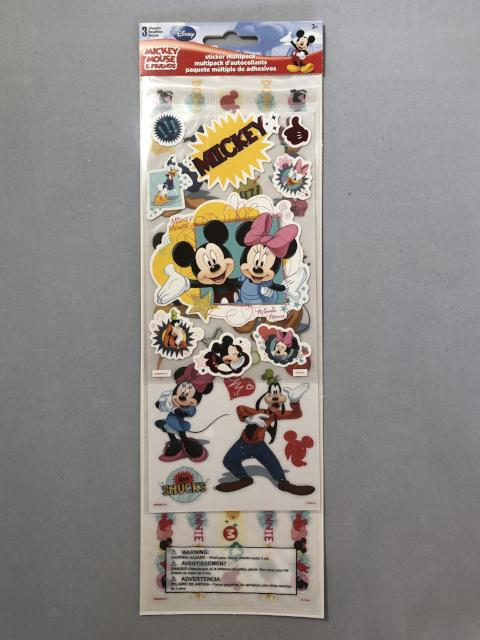 Disney Mickey Sticker Multi Pack Friends