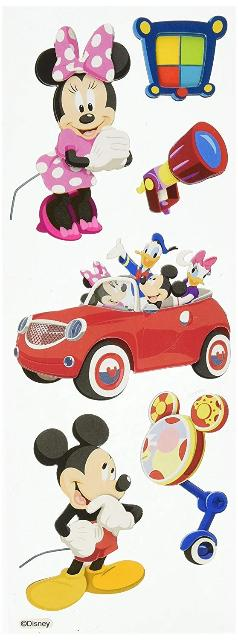 Disney Mickey Mouse Club House Dimensional Sticker