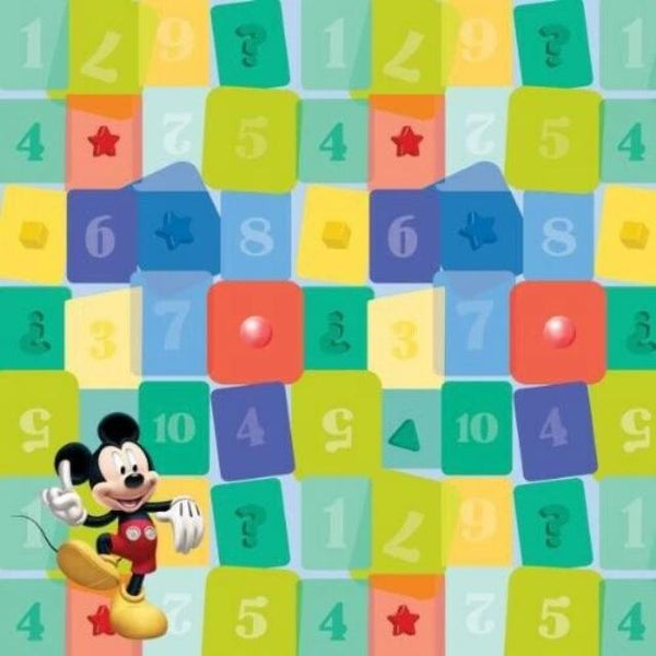 SandyLion: 12 x 12 Disney: Mickey Shapes Scrapbook Paper