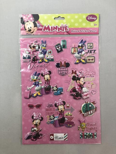 Minnie Raised Sticker Sheet