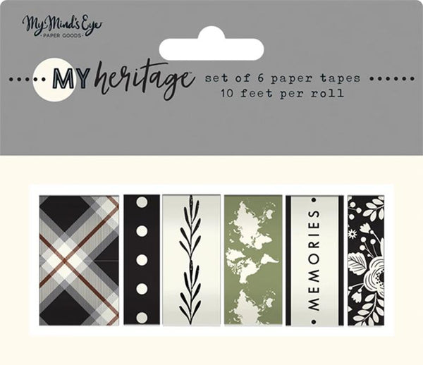 My Minds Eye - My Heritage Collection - Washi Tape