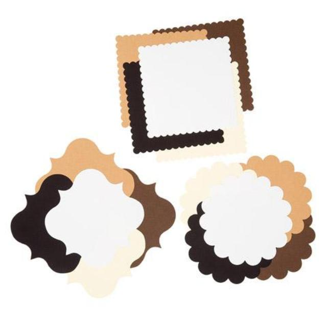 Core'dinations® Die Cut Cardstock Shapes