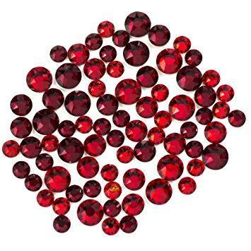 Swarovski Create Your Style Flat Back Crystal Mix, Reds